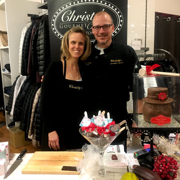 Christy and Bernard from Christy's Gourmet Gifts