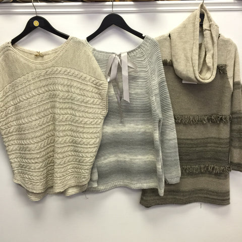 M Made in Italy sweaters