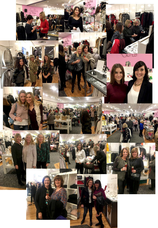 Collage of images from our event