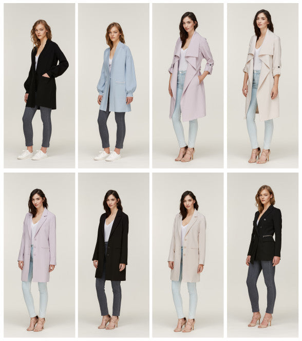 More of our Soia & Kyo coat collection for Spring