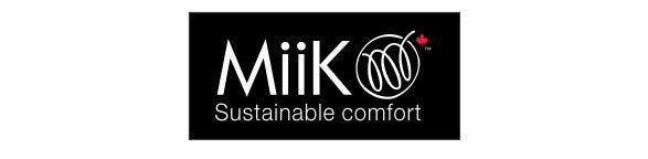 MiiK Sustainable comfort logo