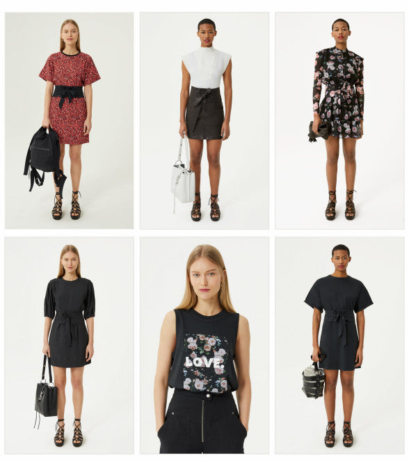 Rebecca Minkoff Spring 19 Collection - clothing items