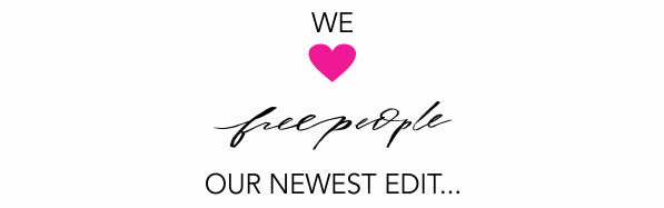 We love Free People logo