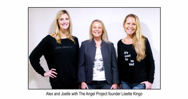 Alex and Joelle with The Angel Project founder, Lisette Kingo