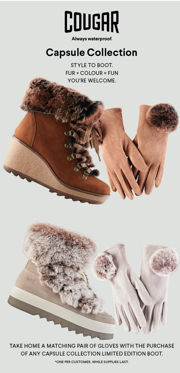 Cougar boots Capsule Collection