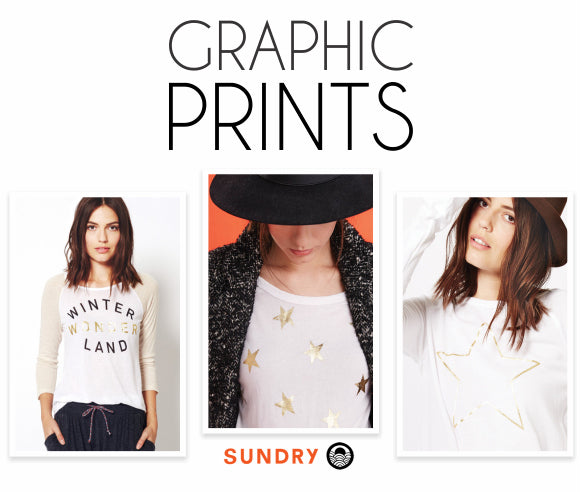 Graphic prints from Sundry