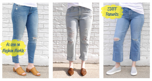 Spring 19 Denim - Mother as seen on Meghan Markle, AG and Paige - A Staff Fave