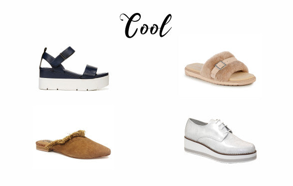 Cool shoes from Franco Sarto, Emu, Free People and David Tyler