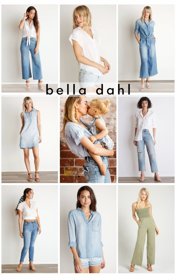 Bella Dahl new items for Spring 2019