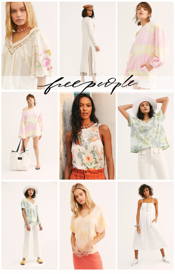 Free People new items for Spring 2019