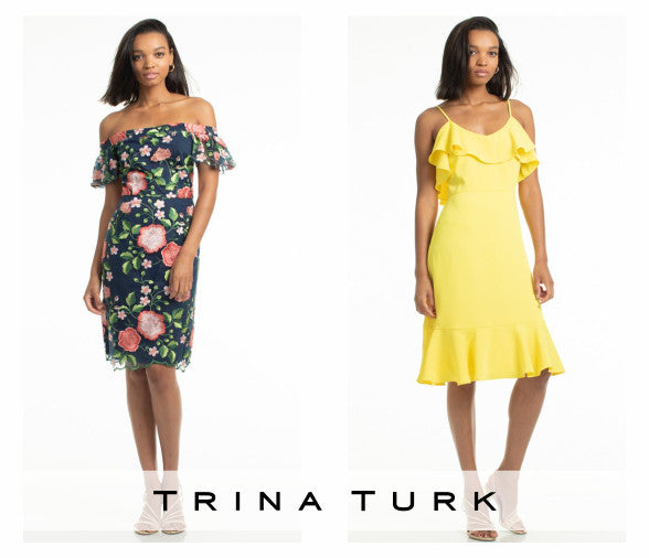 New at Joelle's - Trina Turk dresses for Spring 2019