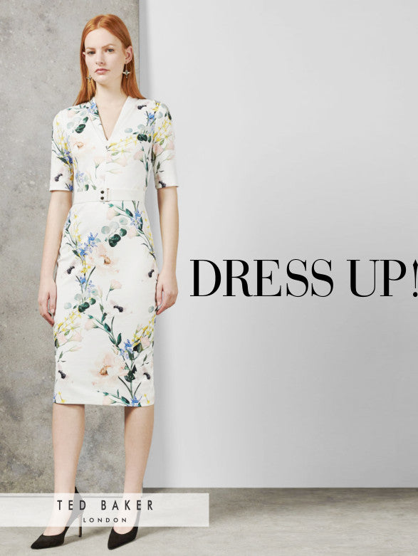 Ted Baker dress for Spring 2019