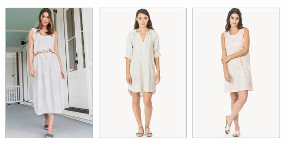 Lilla P - light coloured and linen dresses