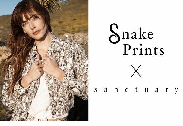 Snake Prints by Sanctuary