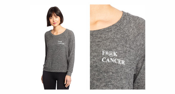 good hYOUman F-Cancer top