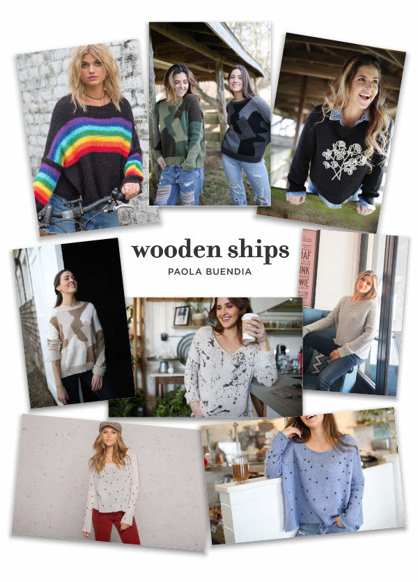 Wooden Ships - Fall 2019 - collage of images