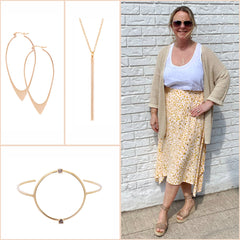 Joelle's pretty pieces from Part Two, Sarah Mulder, Quay and Franco Sarto