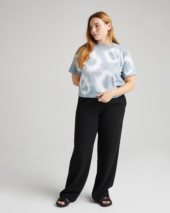 RELAXED CROP T-SHIRT - RICHER POORER