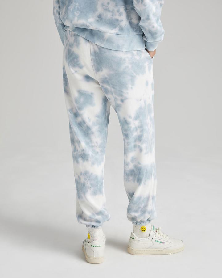 RECYCLED FLEECE SWEAT PANT (TIE DYE) - RICHER POORER