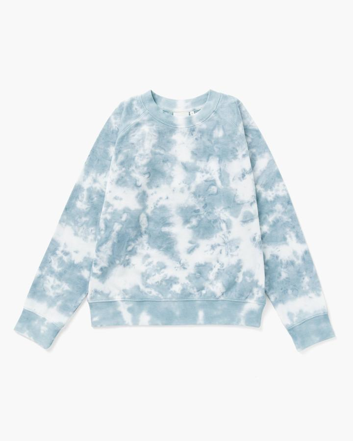 RECYCLED FLEECE SWEATSHIRT (TIE DYE) - RICHER POORER