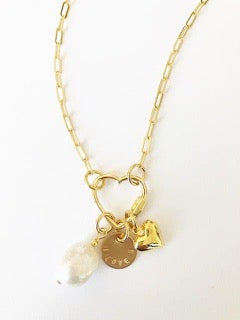 MULTI CHARM NECKLACE - JENN FENTON