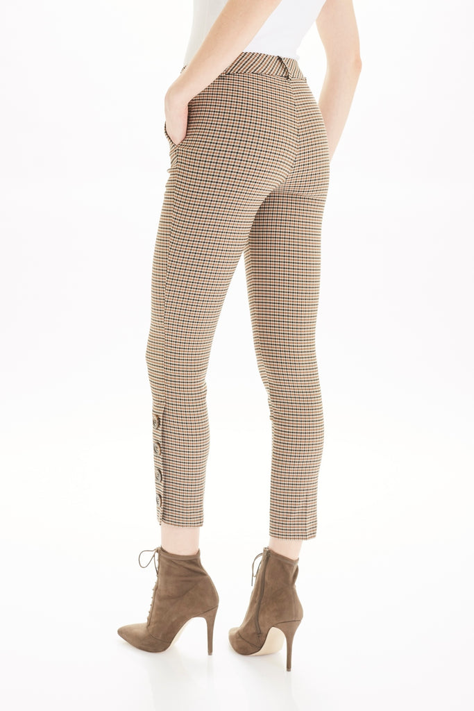 THE GWYNETH BUTTON TROUSER - TYLER MADISON