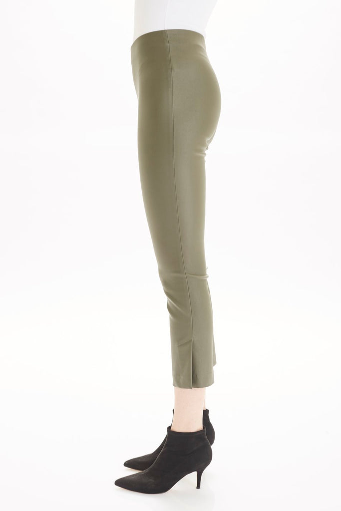 THE JUDY COATED PULL ON PANT (ARMY) - TYLER MADISON