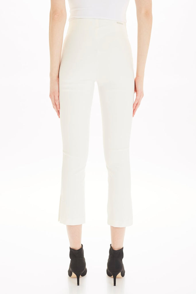 THE JUDY COATED PULL ON PANT (MARSHMELLOW) - TYLER MADISON