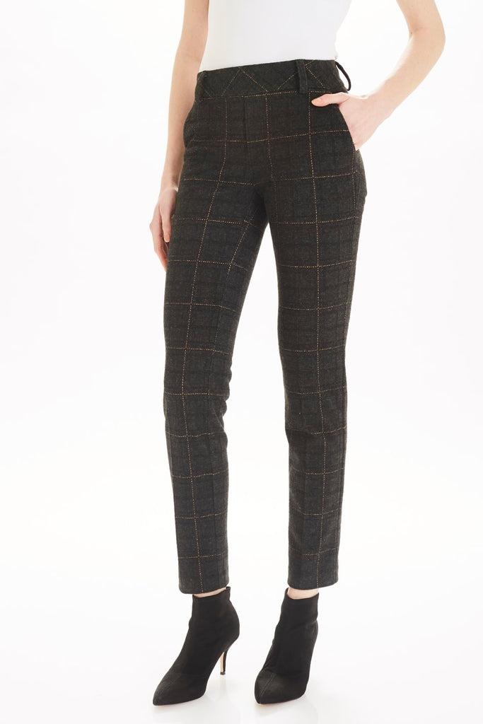 BRIGHTON PLAID TROUSER - TYLER MADISON