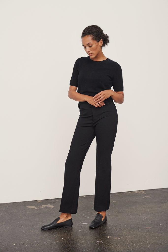 PONTA CLASSIC PULL ON PANT (BLACK) - PART TWO