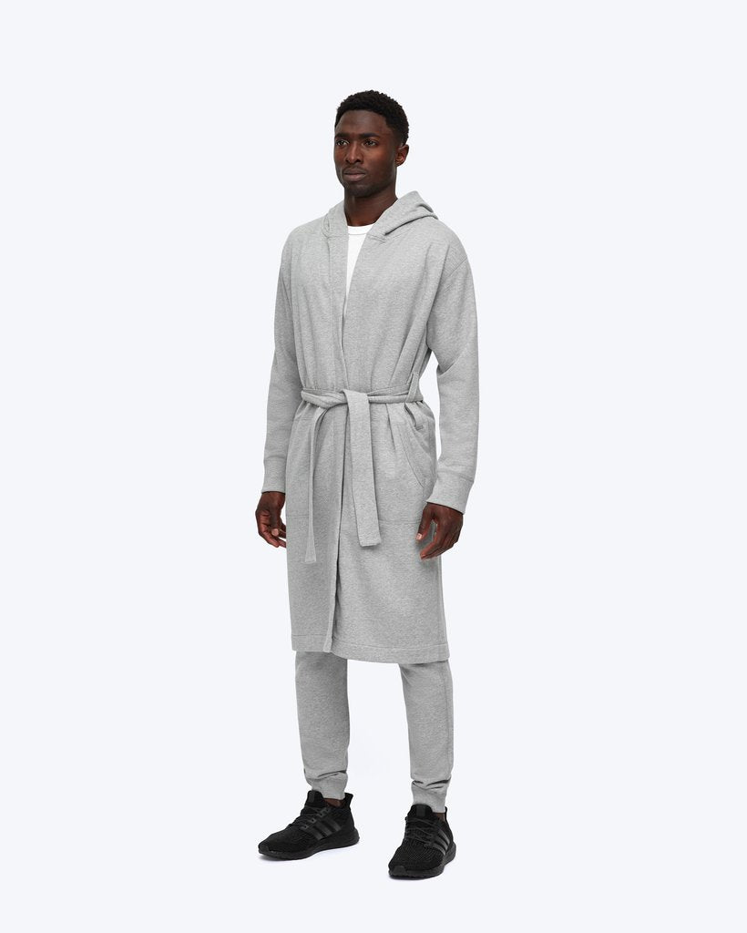 MIDWEIGHT TERRY HOODED ROBE - REIGNING CHAMP