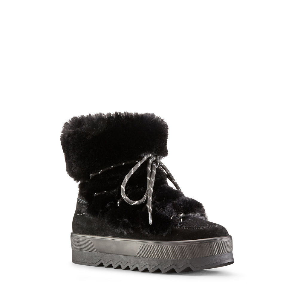 VANITY SUEDE WINTER BOOT (BLACK) - COUGAR