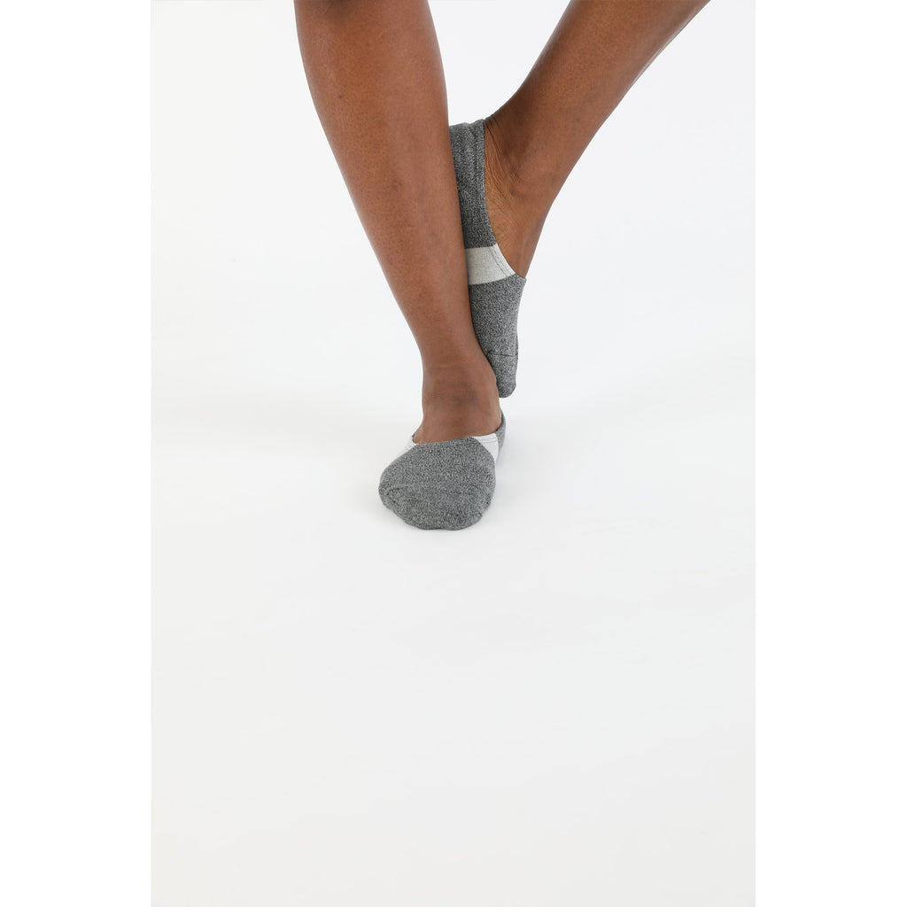 MEN'S NO SHOW SOCKS (GREY) - N/A