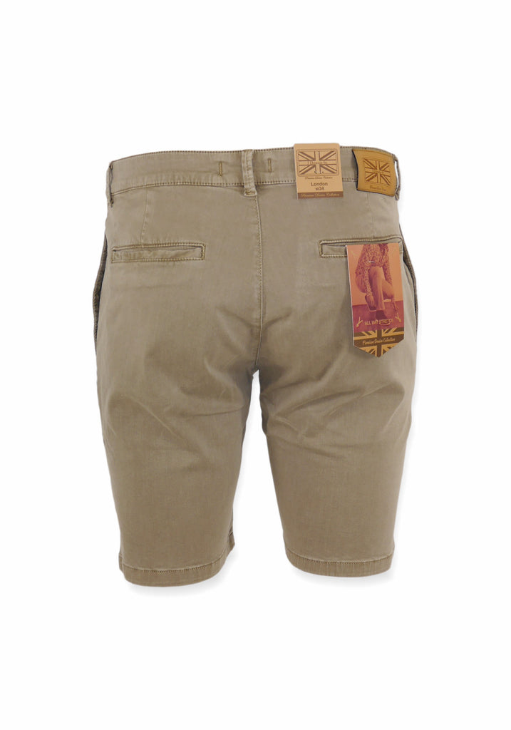 COTTON SHORTS (OATMEAL) - 7 DOWNIE