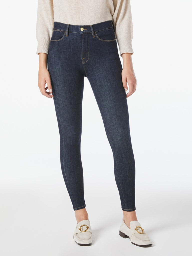 24 HOUR COMPRESSION SKINNY JEAN (RINSE) - FRAME