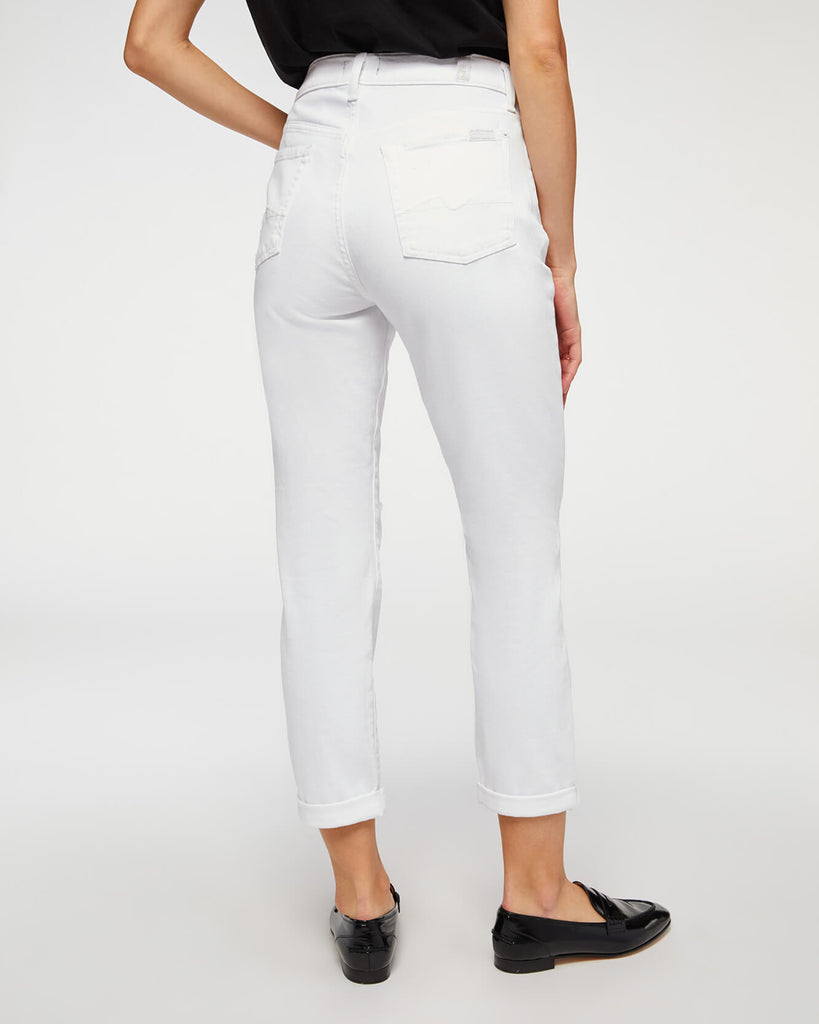 JOSEFINA GIRLFRIEND JEAN (WHITE DISTRESSED) - 7 FOR ALL MANKIND