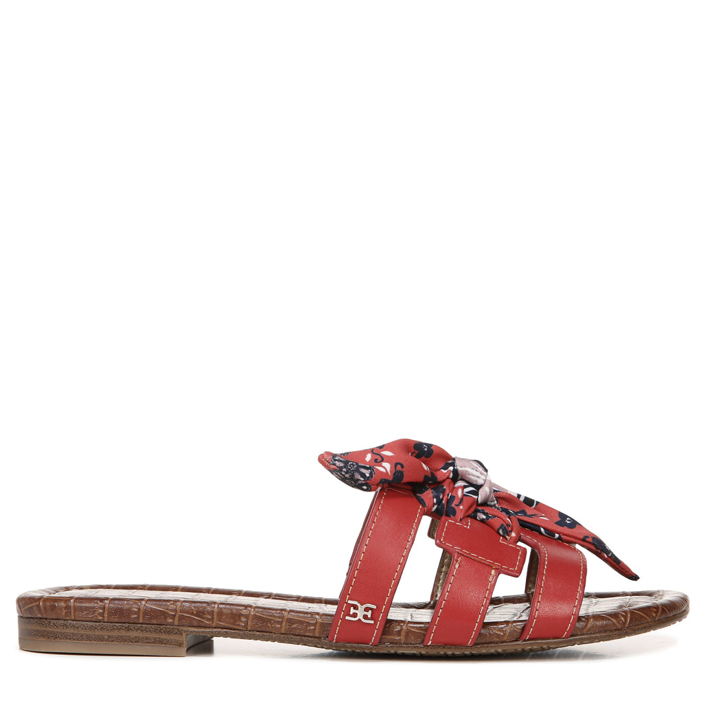 BAY SILK BOW SANDAL - SAM EDELMAN