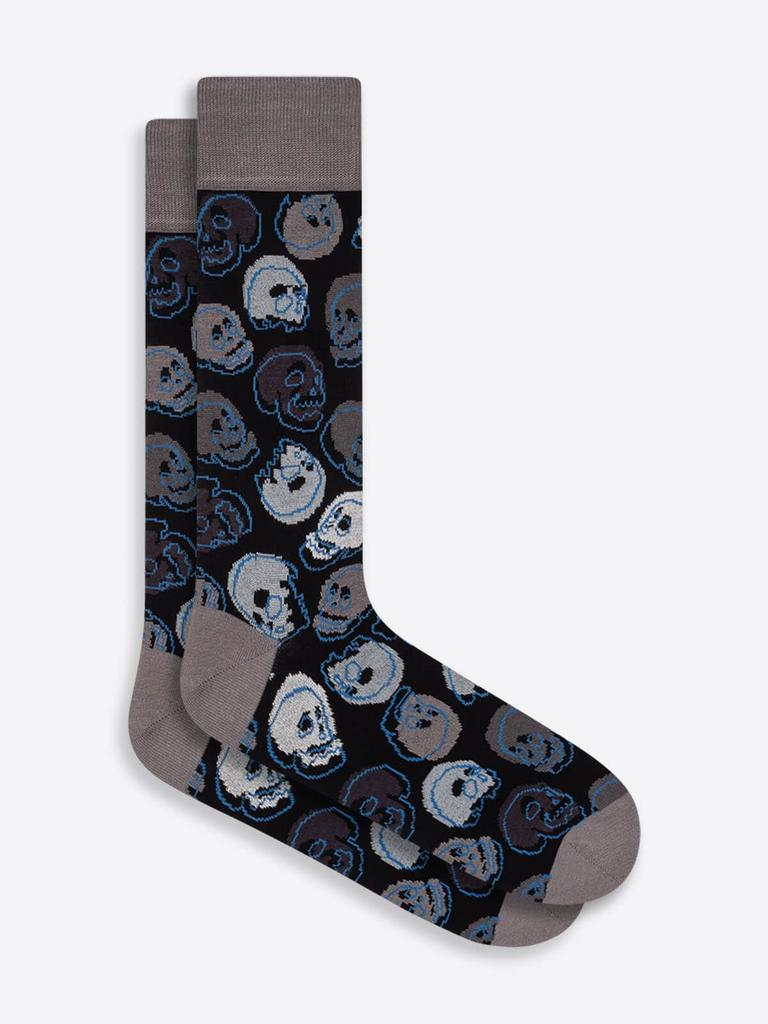 DRESS SOCKS SKULLS - BUGATCHI