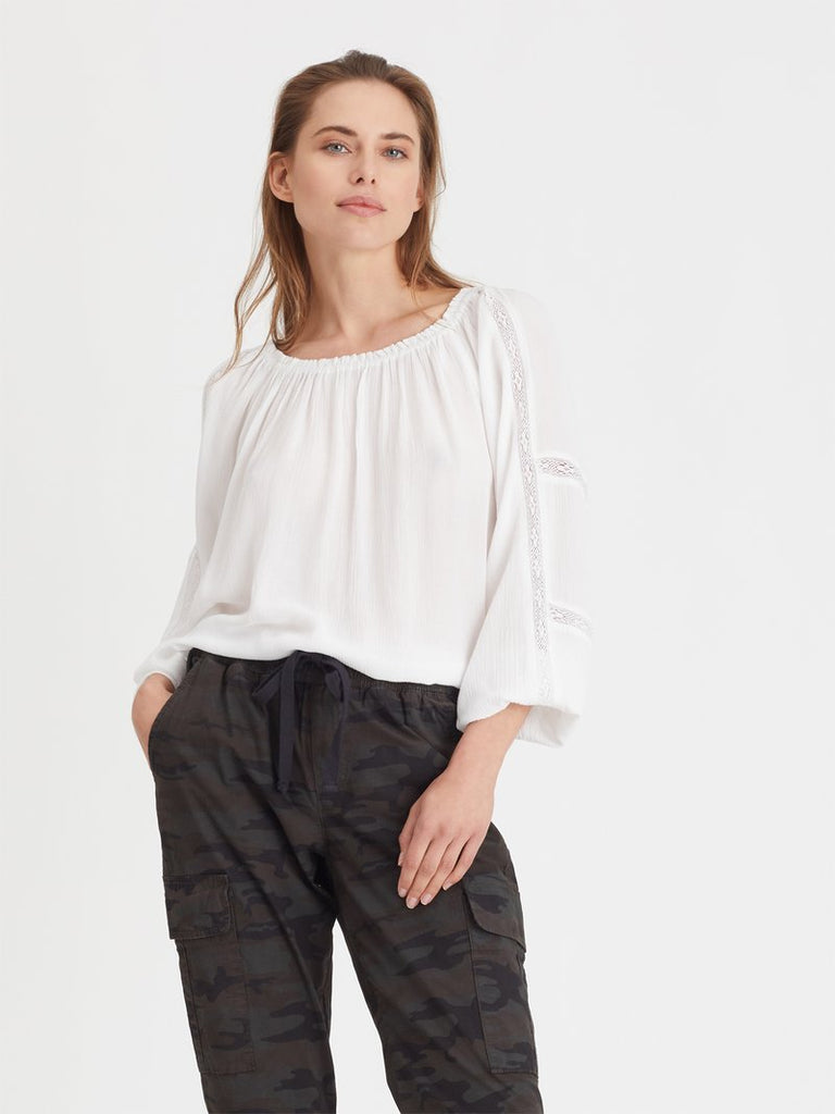 SAY SO BLOUSE (WHITE) - SANCTUARY
