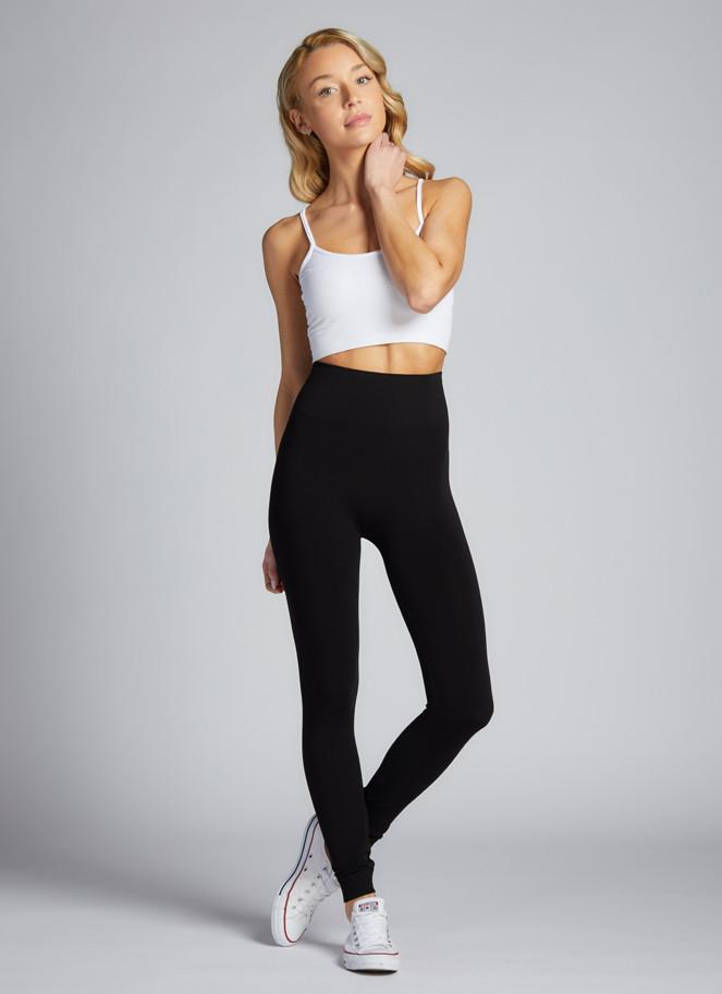 BAMBOO HIGH WAISTED YOGA LEGGING (BLACK) - C'EST MOI