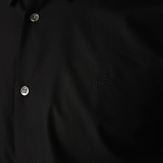 COTTON BUTTON UP SHIRT - LACOSTE