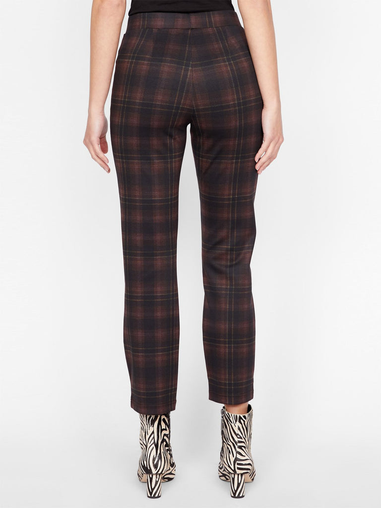 CARNABY KICK CROP (REDWOOD PLAID) - SANCTUARY