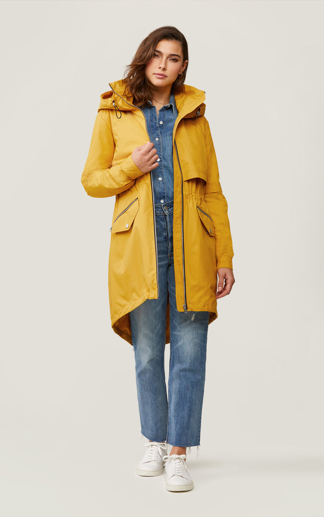 DESIREE KNEE LENGTH UTILITY COAT- SOIA & KYO