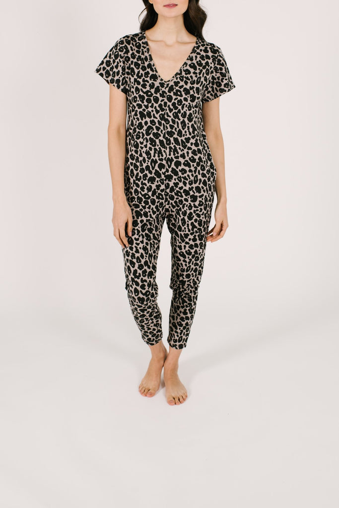 THE SUNDAY ROMPER (LEOPARD) - SMASH & TESS