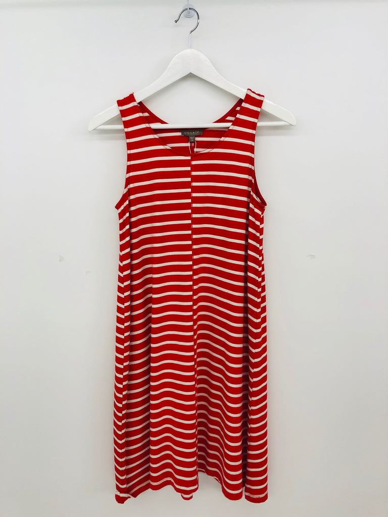 STRIPED SWING DRESS - LILLA P.