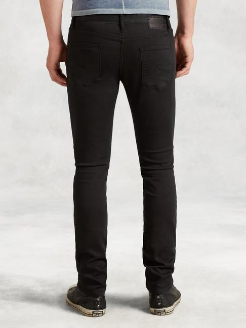 BOWERY SLIM FIT JEAN (BLACK)- JOHN VARVATOS