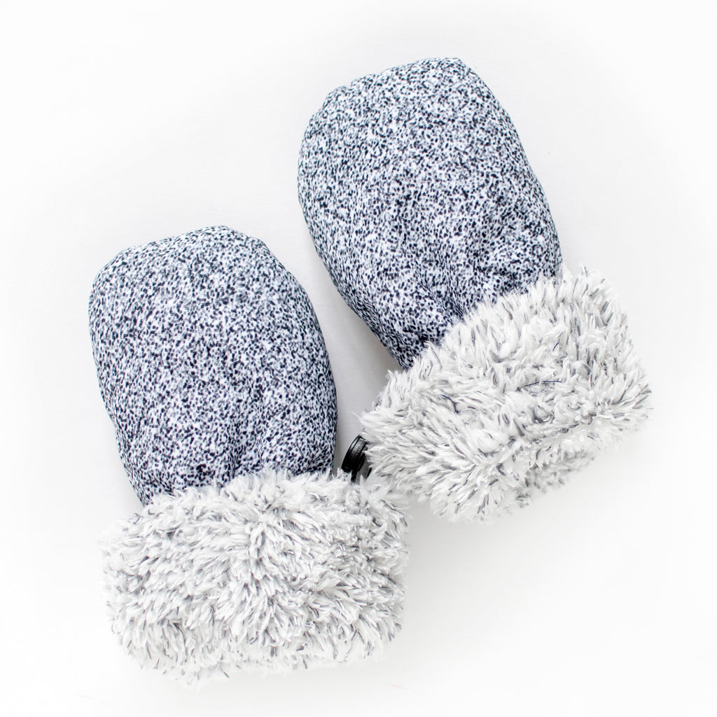 WINTER BABY MITTS (GREY) - JUDDLIES