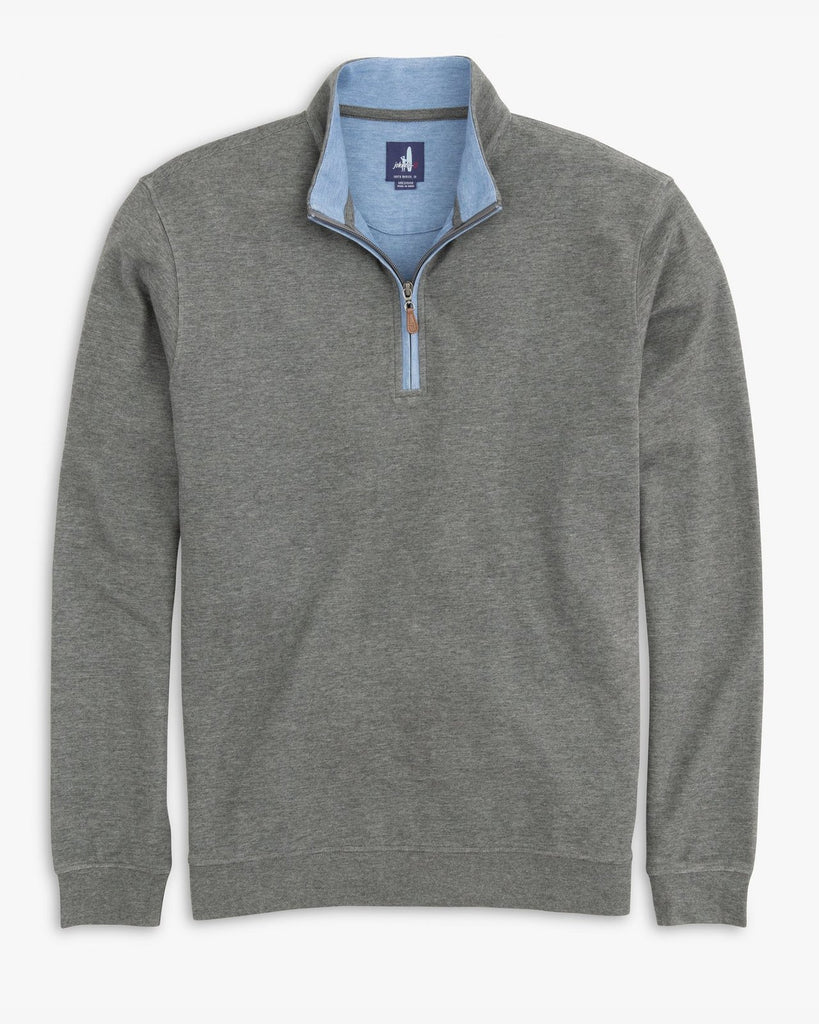SULLY 1/4 SWEATER (SLATE GREY)- JOHNNIE-O
