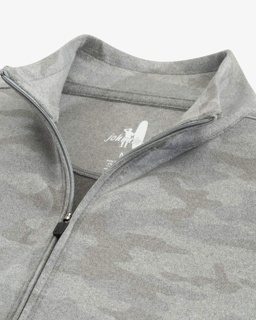 RODNEY 1/4 ZIP CAMO SWEATER - JOHNNIE-O