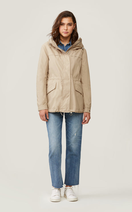JOSELYN SHORT UTILITY JACKET - SOIA & KYO